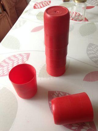 Vasos de plàstico de 33 cl.