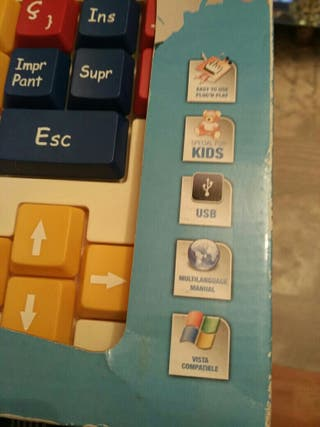 Teclado de ordenador para niñ@s