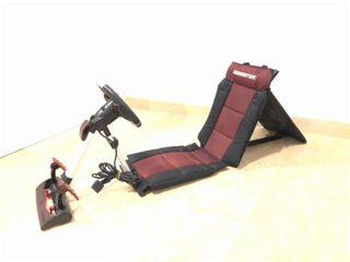 Volante y silla gamester