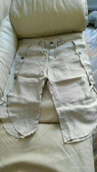 Pantalon bermuda Italiano muy exclusivo