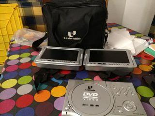 DVD coche con 2 pantallas