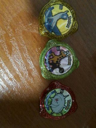 Lote tazos Pokemon