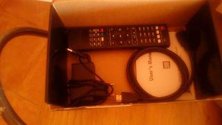 descodificador de canales por satelite.