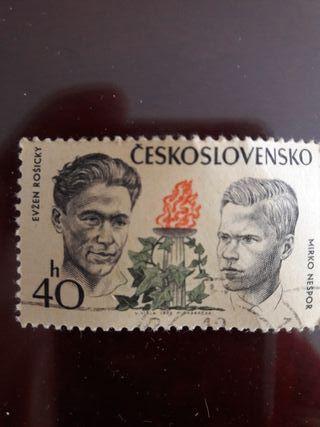 Sello Checoslovaquia