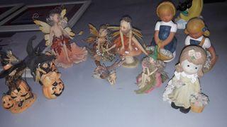 Lote figuras decorativas