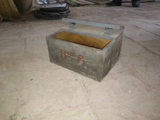 caja munición antigua