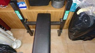 banco de pesas sin barra
