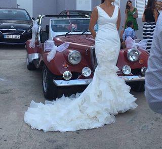 Vestido de novia alta costura, Vicky Martín Berrocal