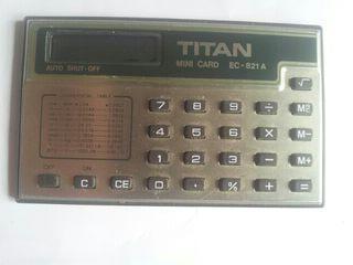 calculadora titan slim card