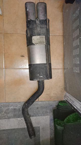 tubo de escape doble remus