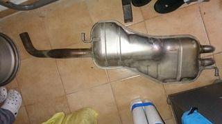 tubo de escape original golf 4