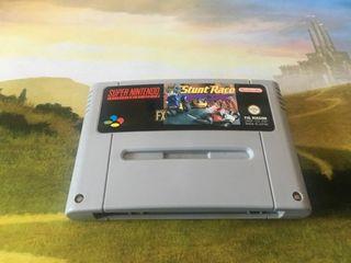 stunt race fx Snes super Nintendo