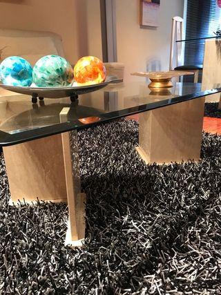 mesa de centro y de comedor