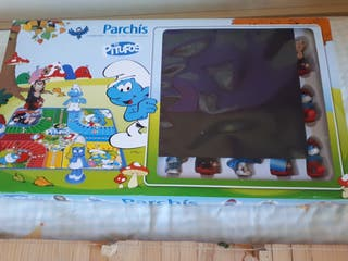juego parchis pitufo