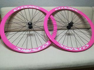 ruedas bicicleta perfil carretera