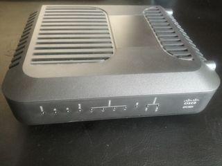 Cable modem Router Cisco EPC3825