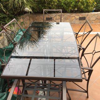 Conjunto exterior mesa - sillas + regalo
