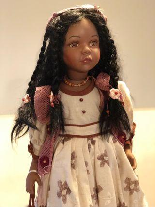 Muñeca porcelana de colección NUEVA