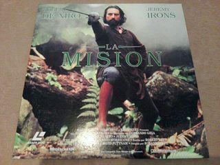 La misión - LaserDisc