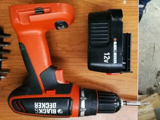 Taladro Atornillador 12V BLACK AND DECKER