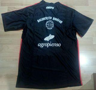 Camiseta baloncesto CB BINÉFAR