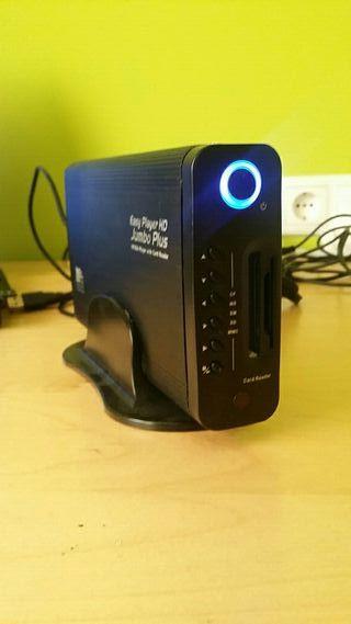disco duro multimedia 500Gb