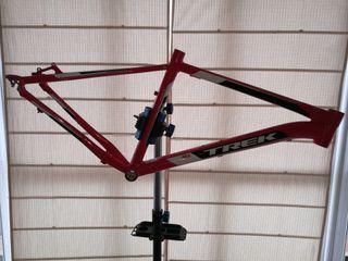 Cuadro rigido bicicleta de montaña Trek