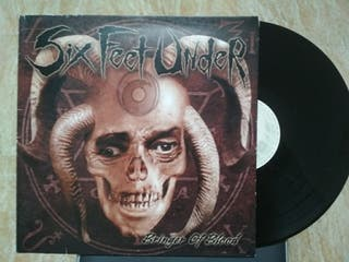 six feet under - bringer of blood LP.