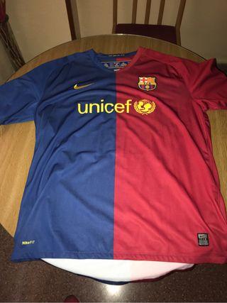 Camiseta barcelona triplete