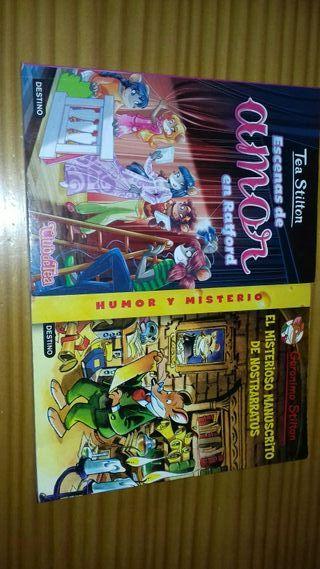 libros geronimo stilton y tea stilton