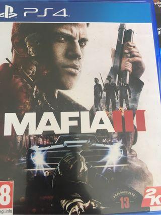 Juego mafia III