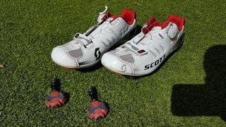 zapatillas scott team y pedales speedplay