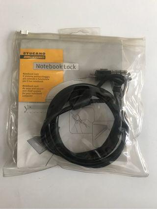 Portatil cable seguridad
