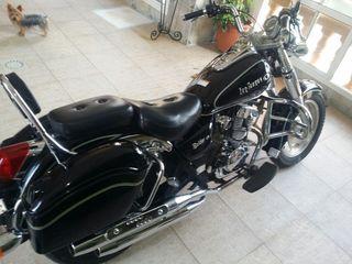 Moto 125 cc Custom Bicilindrica