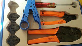 Crimpadora coaxial flexcom dl830 professional tool