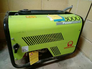 Generador eléctrico PRAMAC