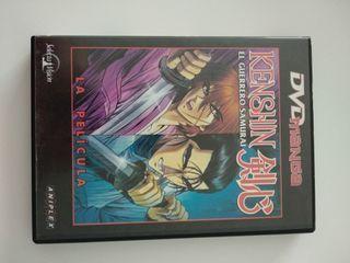 DVD Kenshin el guerrero samurai (la película)