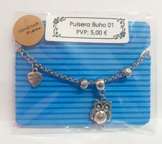 Pulsera búho diseño Family Present