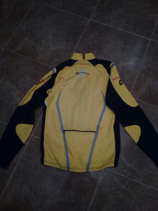 maillot bicicleta chaqueta, northwave
