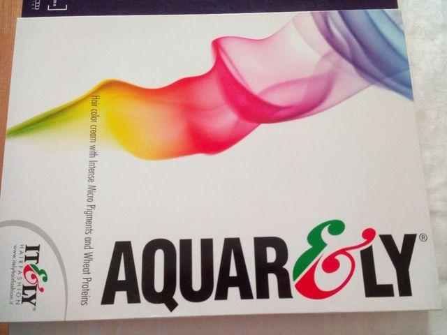 Carta de colores Aquarely y Salerm de segunda mano por 15 € en ...
