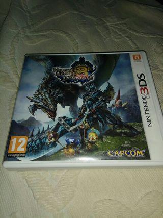 monster hunter 3 Nintendo 3ds