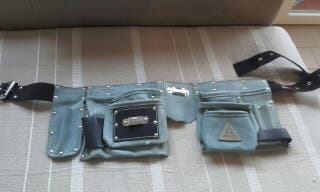 Cinturon Herramientas de cuero nuevo