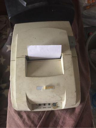 Dos impresoras de ticket