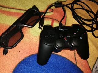 Mando PC y gafas 3D