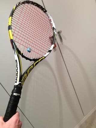 Raqueta tenis babo lay acero pro teAm+ raquetero