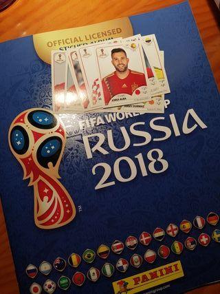 Cromos Mundial Russia 2018