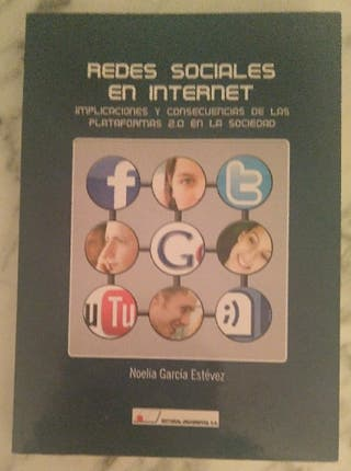 REDES SOCIALES EN INTERNET. LIBRO