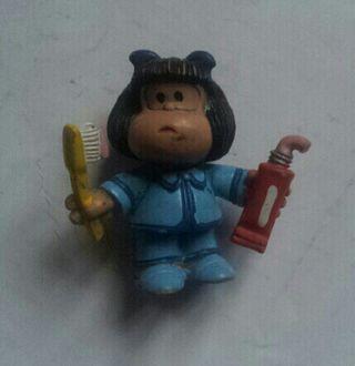 juguete figura pvc mafalda comics spain pasta de