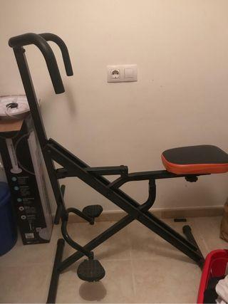 Total crunch maquina ejercicio