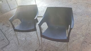 6 sillas para bar terraza finca